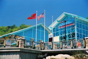 Ripley's Aquarium of the Smokies in downtown Gatlinburg.